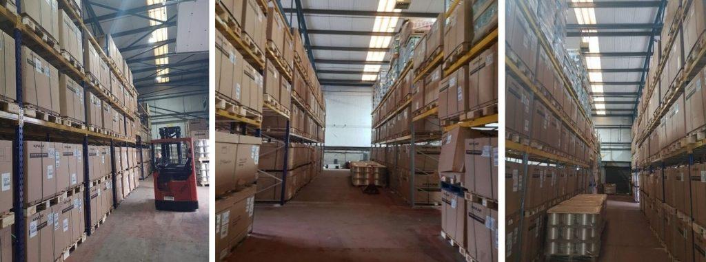 Harding Specialty Fibers warehousing