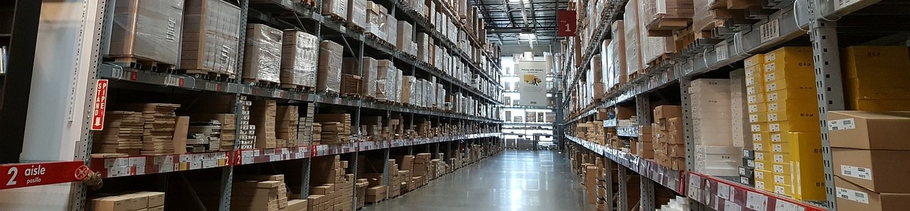 warehousing at Harding Yarns Limited